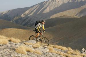 Olymptour in Griechenland. Nov. 04 mit MTB-Fahrtwind. Peter Brodschelm